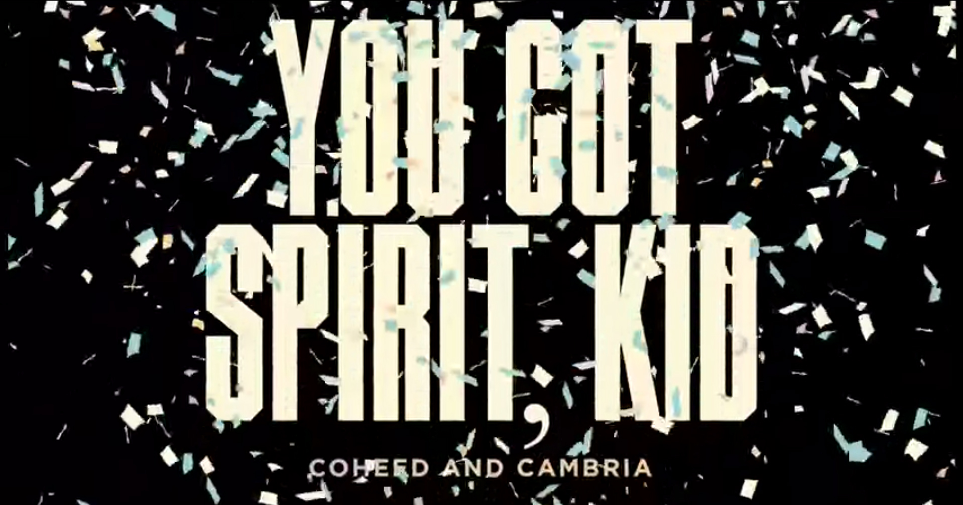 Coheed and Cambria – You Got Spirit, Kid (Lyric Video)