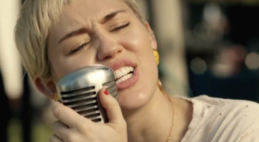 Miley Cyrus – Different (Happy Hippie Presents-Performed by Miley Cyrus & Joan Jett)