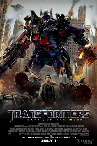 Transformers 3 – Dark side on the moon