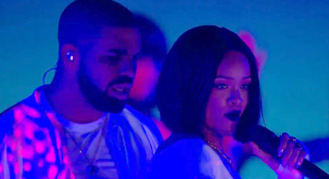 Rihanna - Work ft. Drake - Live at The BRIT Awards 2016