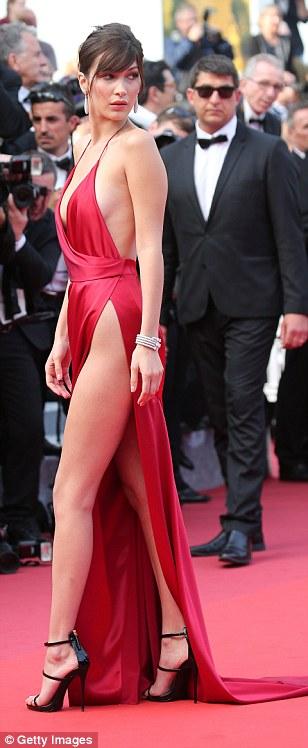 Bella Hadid Cannes Festivali 2016 0298