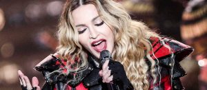 Madonna performs at the opening night of her Rebel Heart Tour at the Bell Center on Wednesday, Sept. 9, 2015, in Montreal, Quebec. (Photo by Rich Fury/Invision/AP)