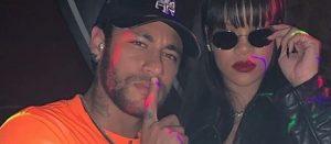 Neymar ile Rihanna gece eğlencesinde
