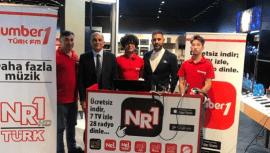 Number1 Arçelik canlı yayını için Ankara'da