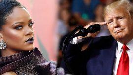 Rihanna: Donald Trump akıl hastası