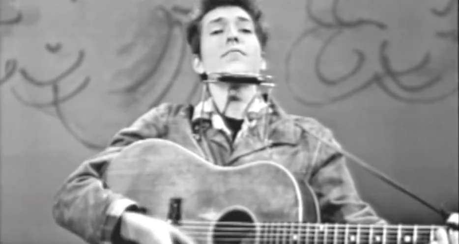 Bob Dylan – Blowin in the wind (Live On TV -1963)
