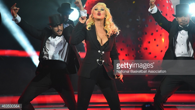 Christina Aguilera – 2015 NBA All-Star Açılış Performansı