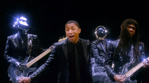Daft Punk – Get Lucky (ft. Pharrell Williams & Nile Rodgers )