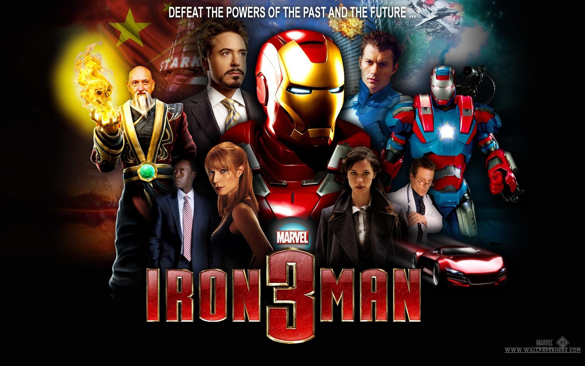 Iron Man 3 – Fragman