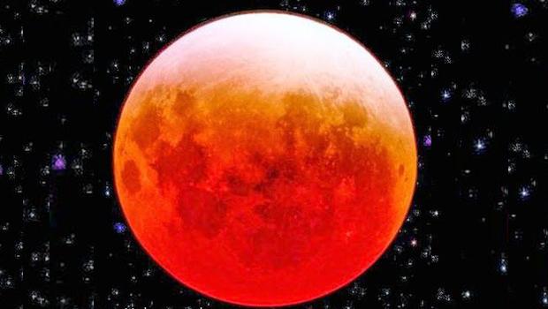 Kanlı Ay Tutulması – 15 Nisan 2014