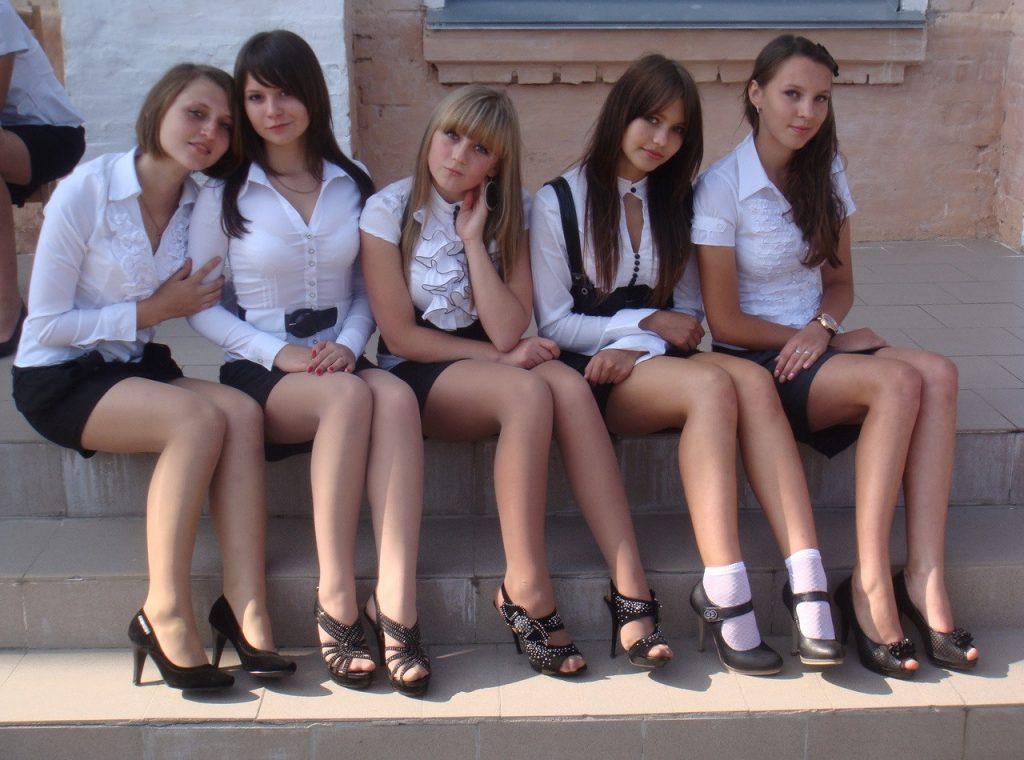 фотосессия молодых девчонок