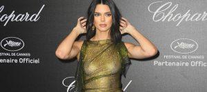 Kendall Jenner 71. Cannes Film Festivalinde Sınırları Zorladı