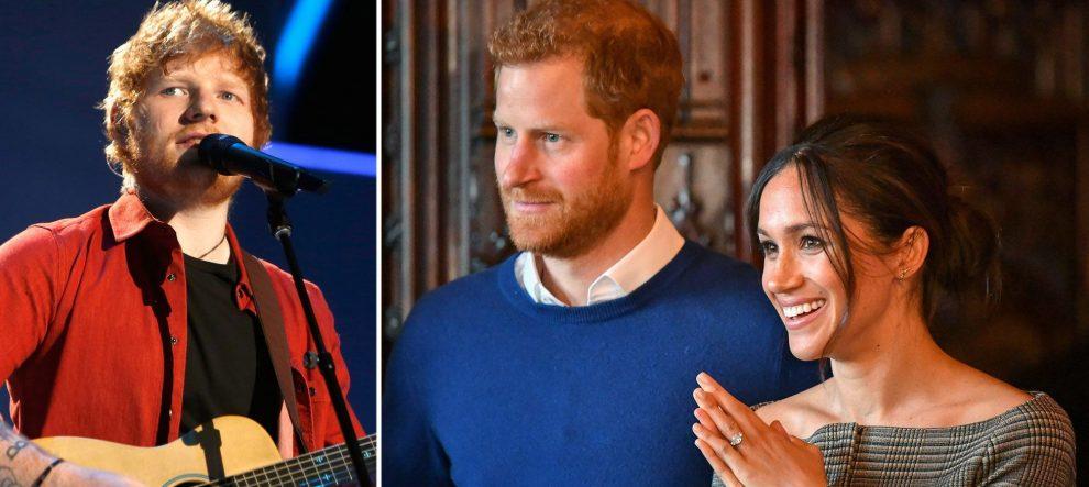 Prens Harry ve Meghan Markle'ın ilk dansı Ed Sheeran eşliğinde olacak