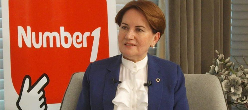 Meral Akşener Number1'da projelerini anlattı