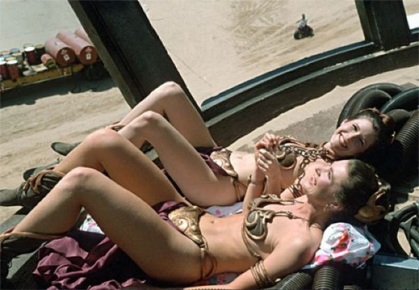 carrie-fisher-and-stuntwoman-tracey-eddon