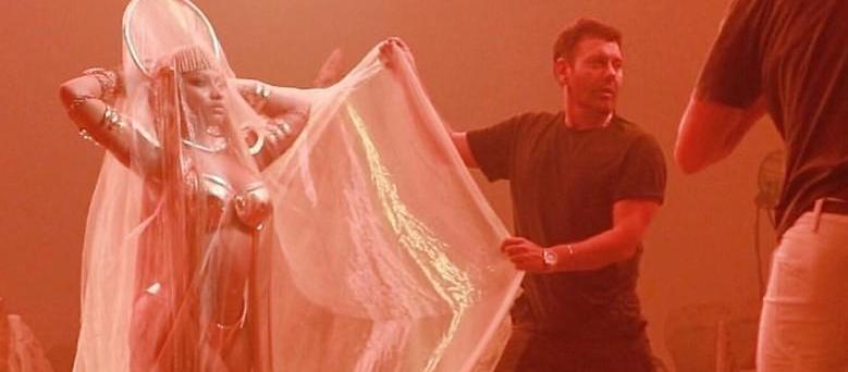 Nicki Minaj'ın klibini Mert Alaş çekti