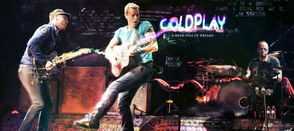 Coldplay belgeselinden ilk video