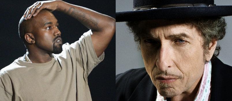 Kanye West, Bob Dylan'la çalışmak istiyor