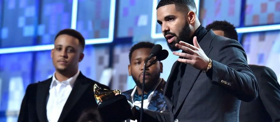 Drake'in konuşması neden yarıda kesildi?